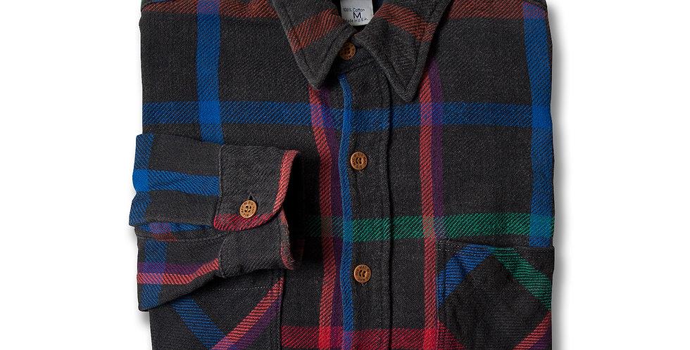 1980年代 ビッグマック ヘビーフランネルシャツ ブラックベース