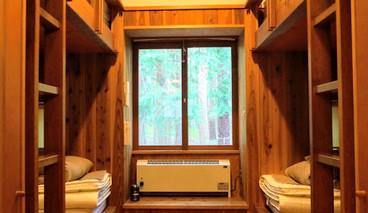 エアコン付きベッドルーム
