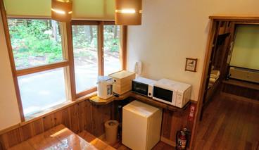 電子レンジ・トースター・ポット・ミニ冷蔵庫