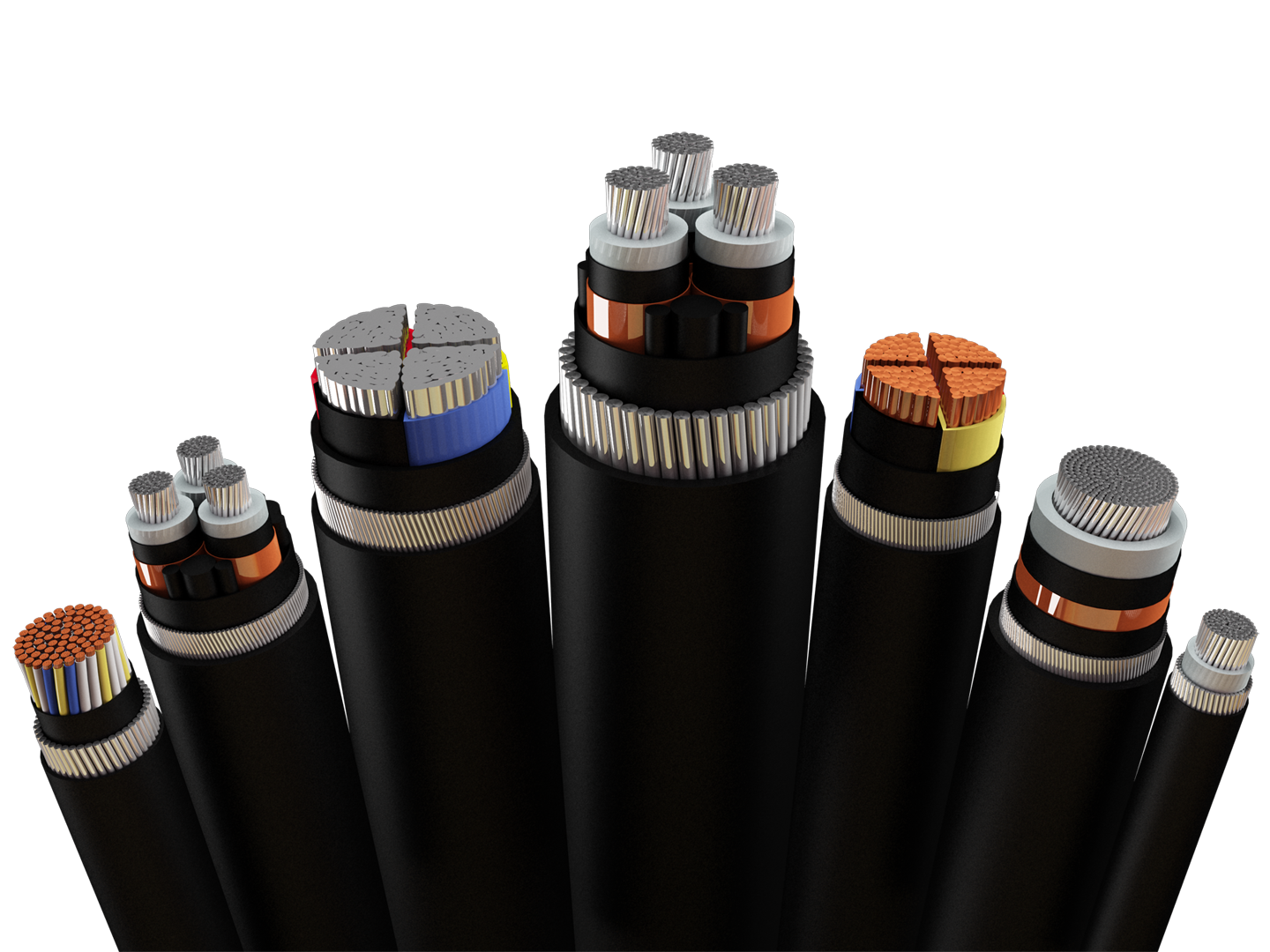 Industrial cables