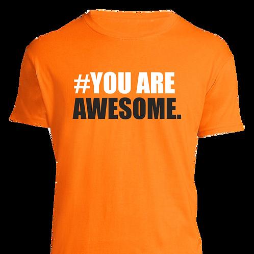Koszulka #YouareAwesome MĘSKA