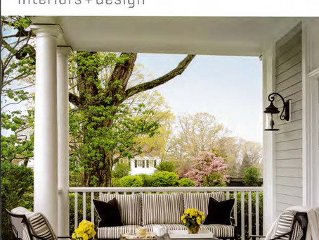 2 Sag Harbor homes are Historic Restoration on the outside with a Modern flare on the inside