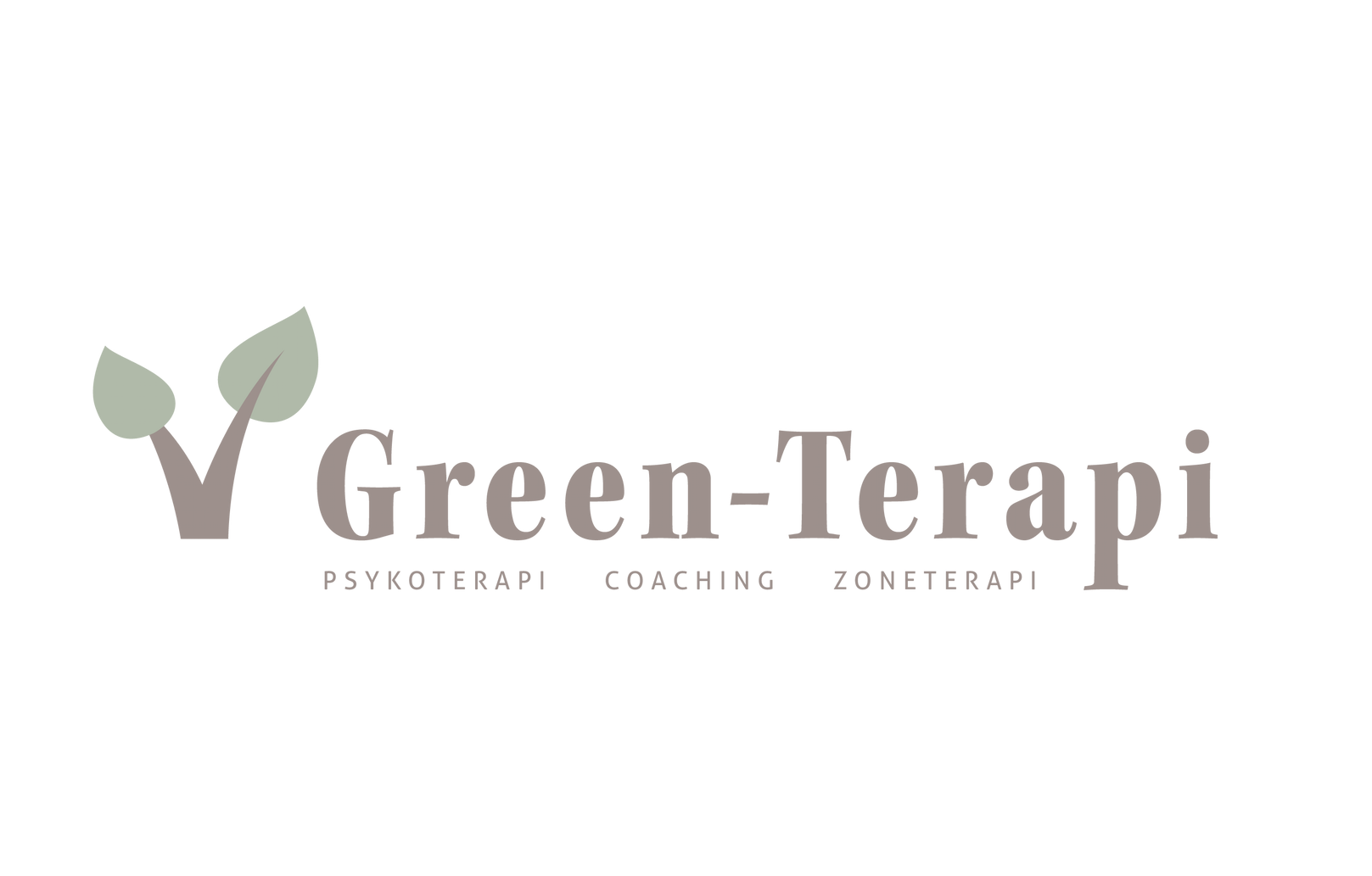 Green-Terapi logodesign