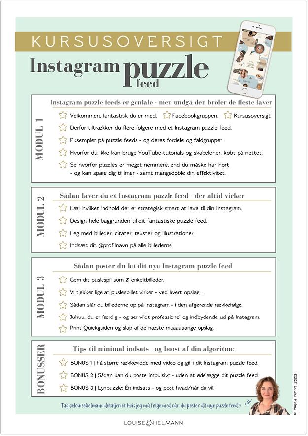 Kursusoversigt Louise Helmann Instagram Puzzle feed.png