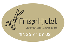 Frisørhjulet logodesign