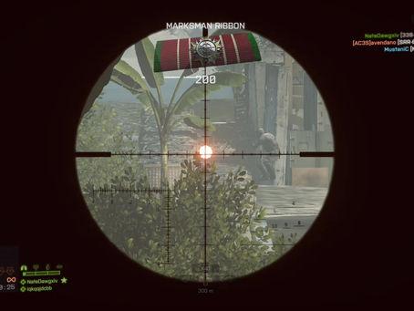 Double long range headshot
