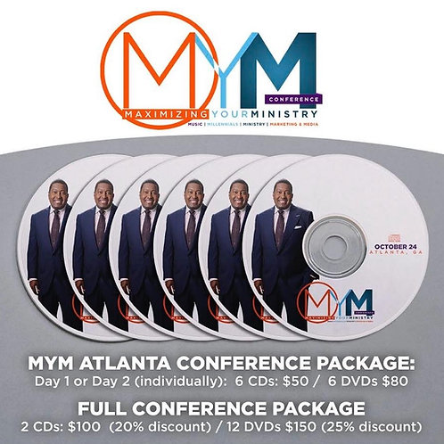 MYM Conference Package DVD