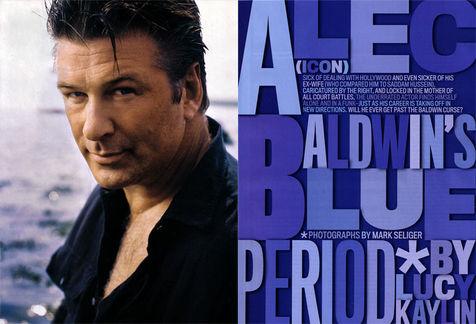 Alec Baldwin GQ Feature