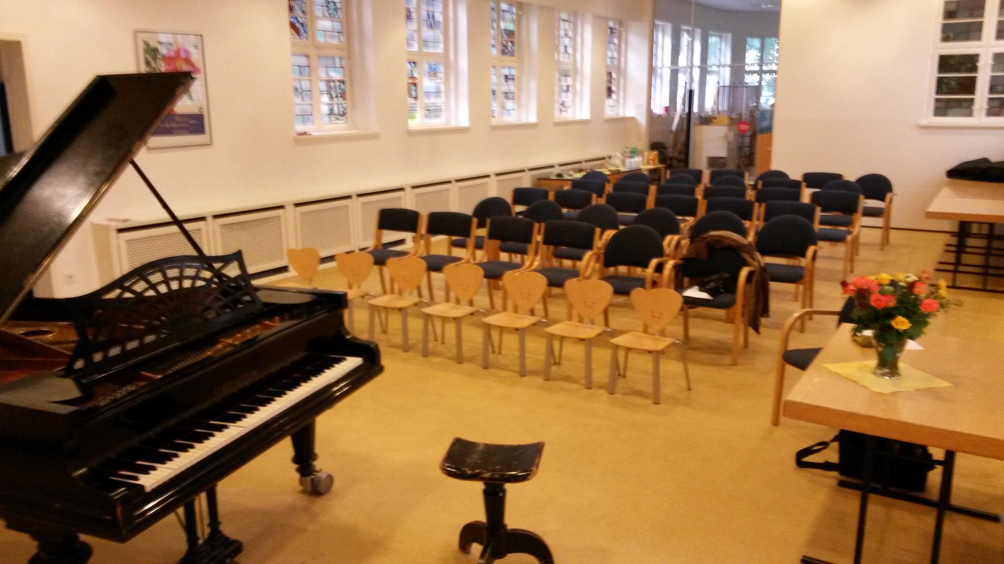 Schülerkonzert Saal