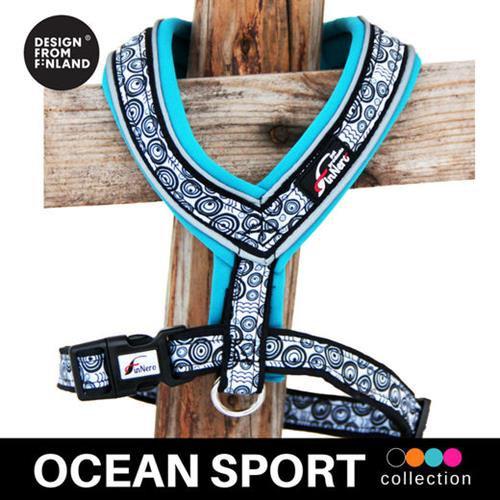 FinNero Ocean Sport Y-Harness - Turquoise