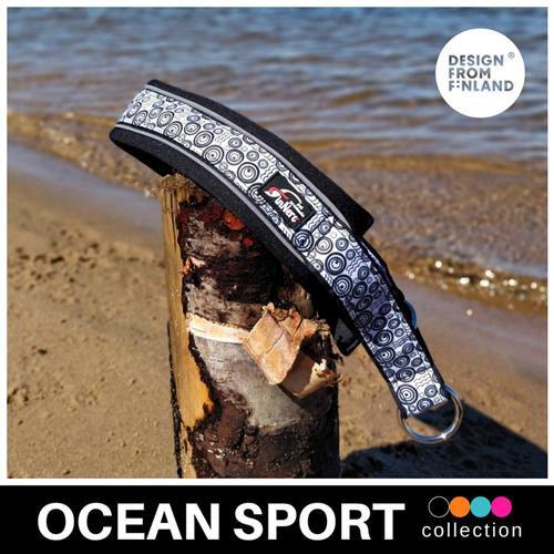 FinNero Ocean Sport Collar -Black