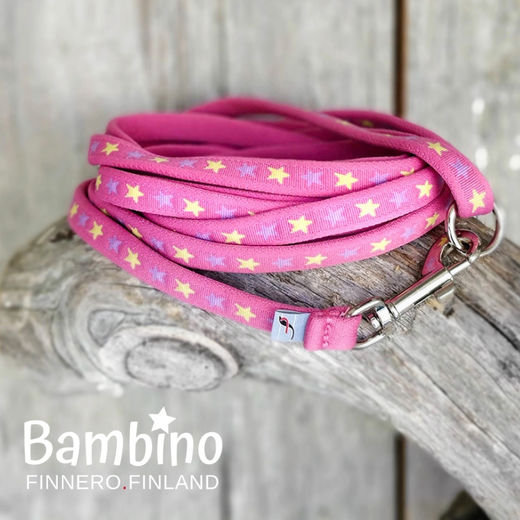 FinNero Bambino Lead -Girly Pink