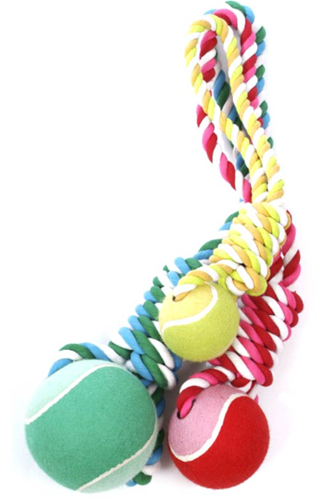 Wow Tennis Ball Tug -Large