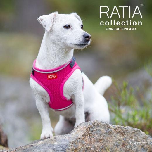 FinNero Ratia Mesh Vest Harness -Pink