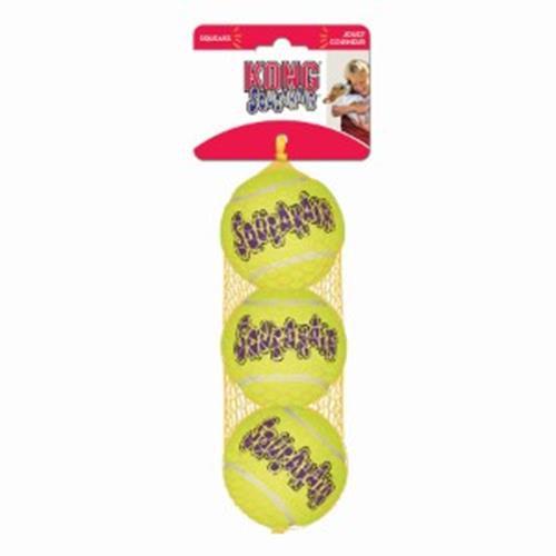 KONG Squeaker Tennis Ball - Small x3