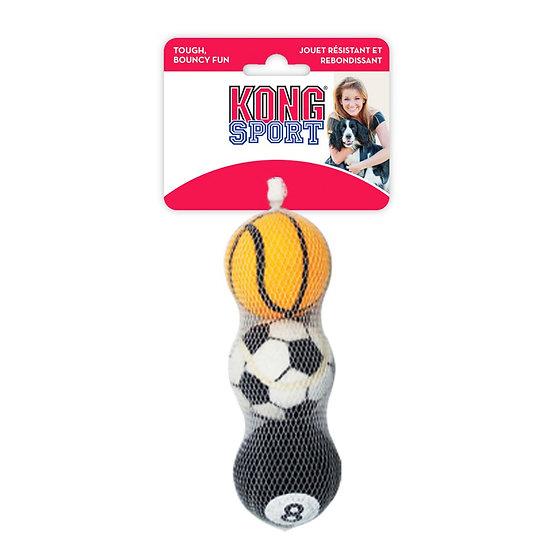 KONG Sport Tennis Ball - Medium x3