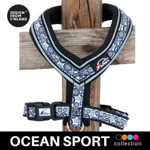 FinNero Ocean Sport Y-Harness - Black