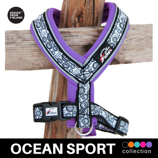 FinNero Ocean Sport Y-Harness - Violet