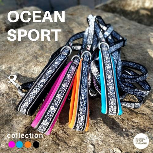 FinNero Ocean Sport City Leash -Turquoise