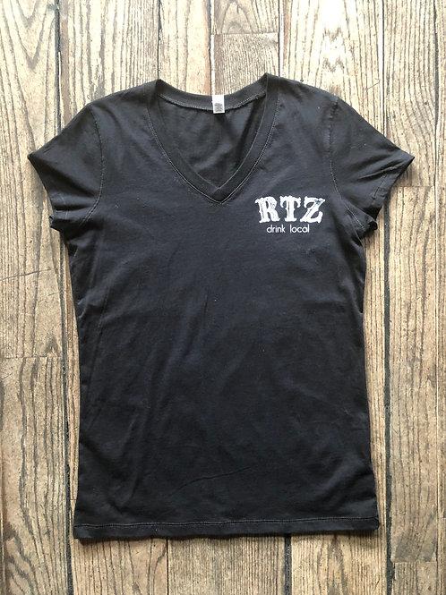 RITZ Classic V Neck - Black