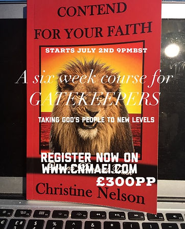 Contend for your faith - A 6 week course for fivefold ministers