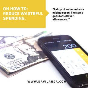 How To Reduce Wasteful Spending