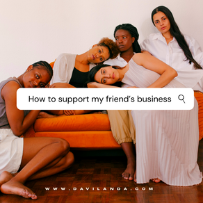 Ways You Can Support Your Friend's Business