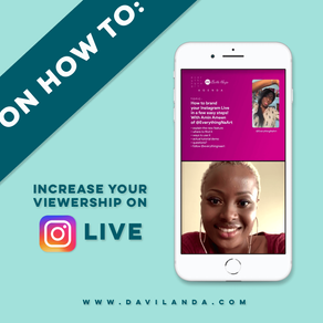 On How to: Increase your viewership on Instagram Live