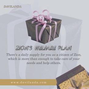 Zion's Welfare Plan
