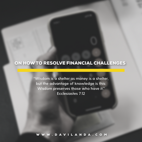 Financial Challenges And How To Solve Them