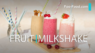 Fruits Milkshake with yogurt