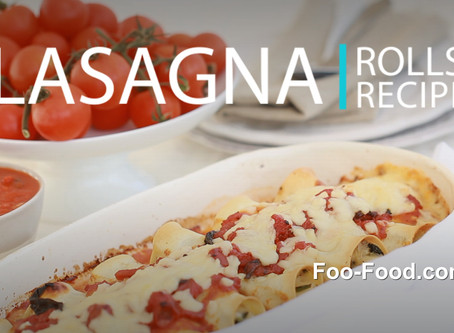 World's best Lasagna rolls recipe
