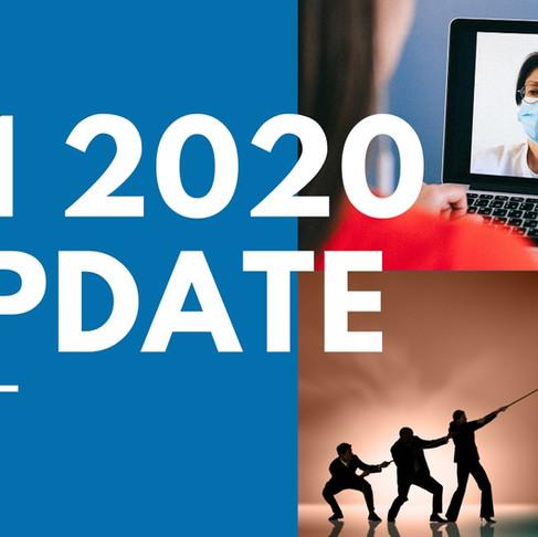 6 month update, H1 2020