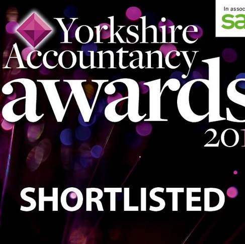Finalist at The Yorkshire Accountancy Awards
