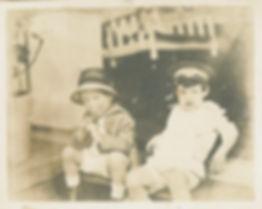 damaged antique photo