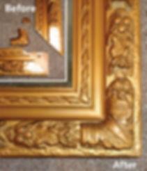 Antique frame repair