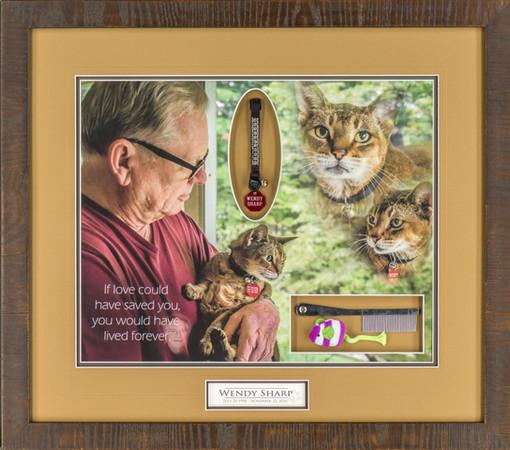 Memorial Pet Shadowbox
