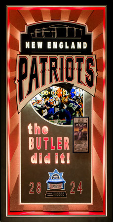 Superbowl 49 Patriots Victory