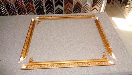 broken antique frame