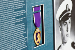 Recessed Purple Heart