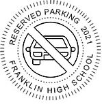 2021 Reserved Parking Seal