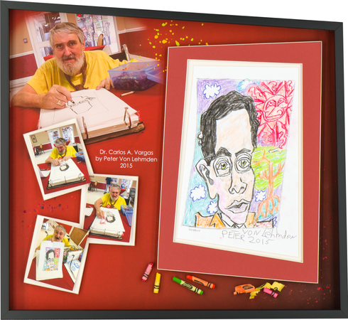 Cartoon of Dr. Vargas