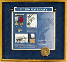 US Navy Shadowbox