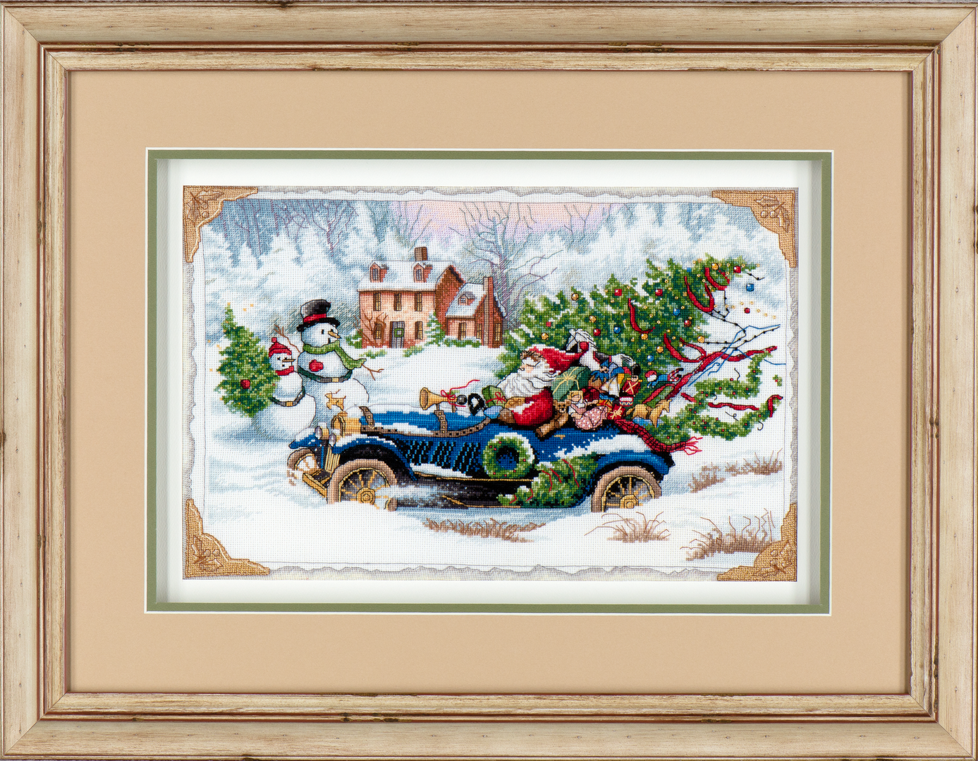 Christmas Needlework