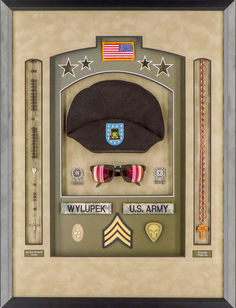 Army Patches and Keepsakes