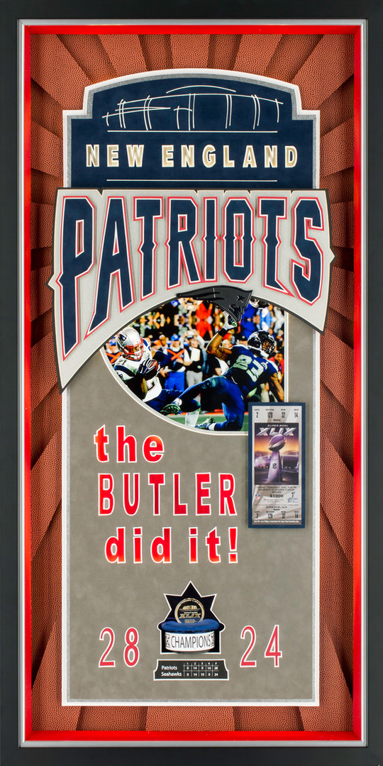 Superbowl XLIX - Patriots vs Seahawks