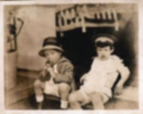 restored antique photo