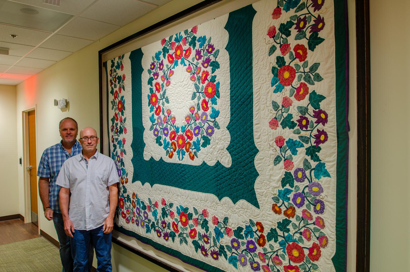 Quilt made by Shelia Moffitt