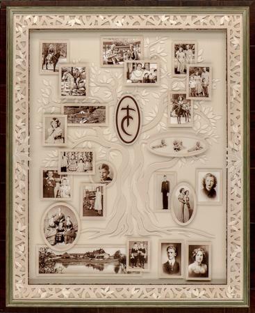Family Tree Shadowbox
