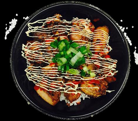Kara-Age Chicken Rice Bowl
